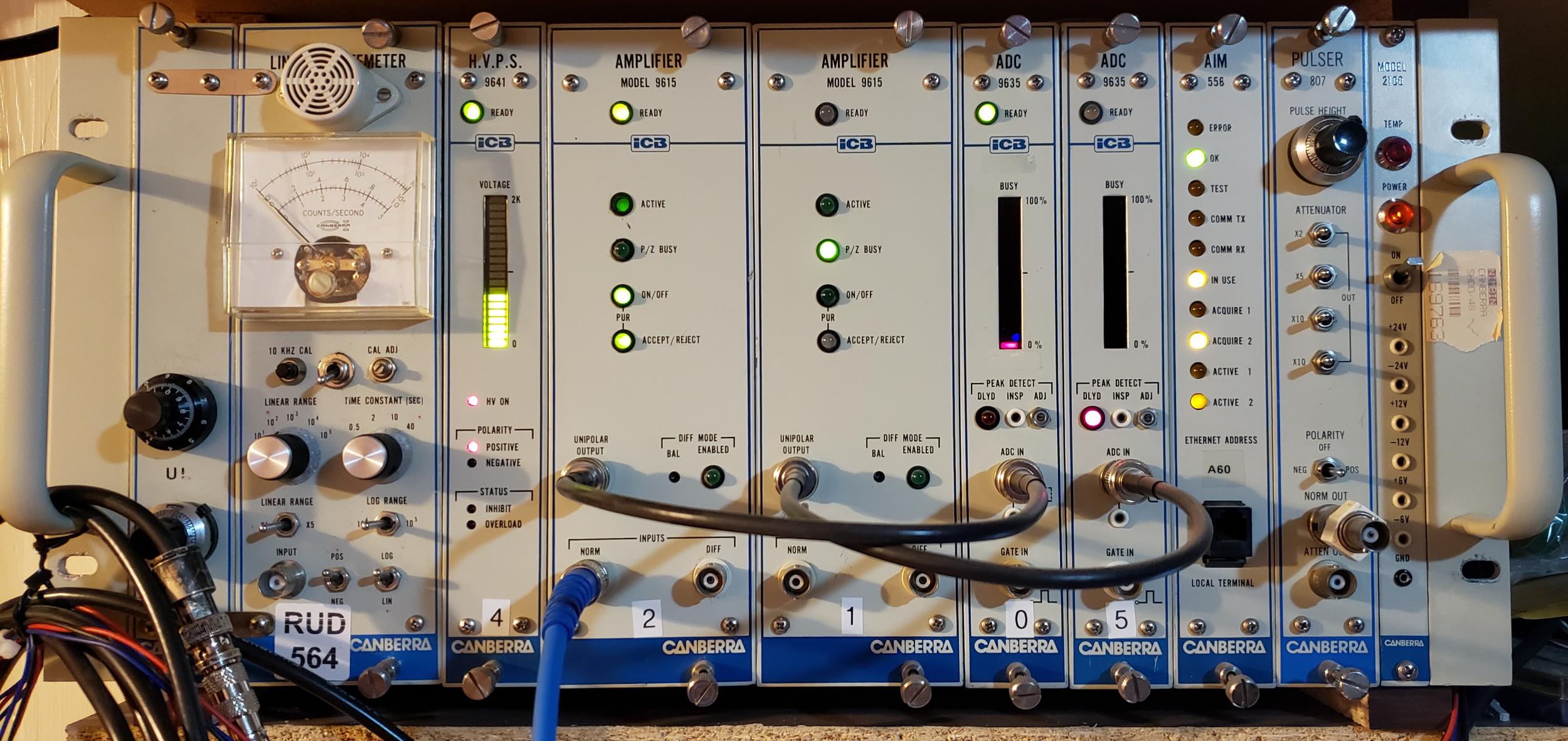 Amateur Canberra Spectroscopy System