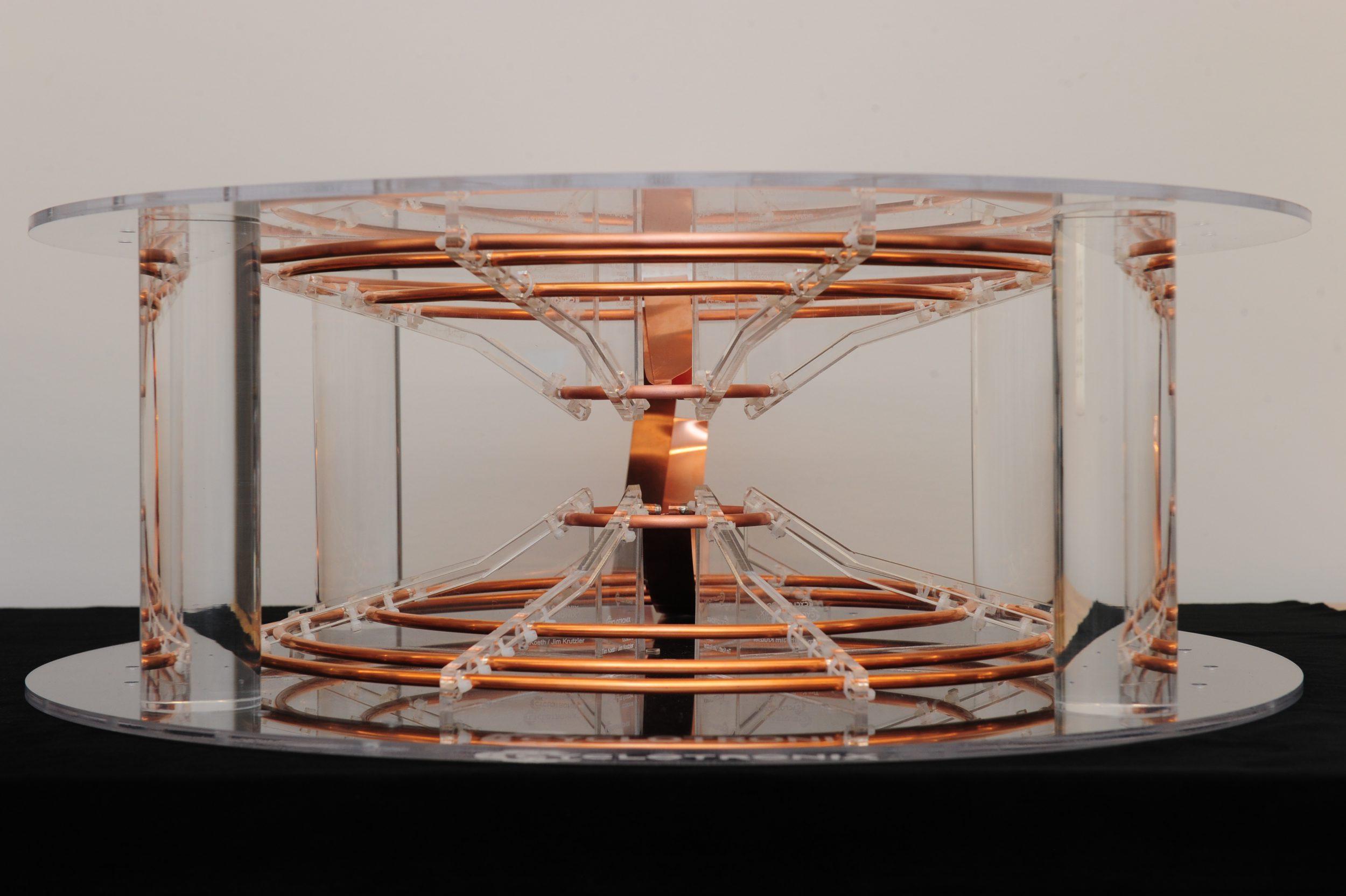 Plasma Betatron Coil Form: Design and Construction
